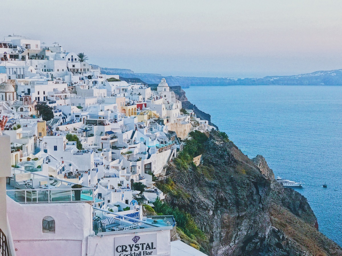 Let's Talk – Santorini